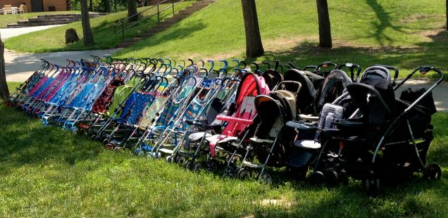 Strollers (Photo: CKirgiss)