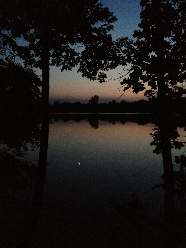 Reflected moon (Photo: CKirgiss)