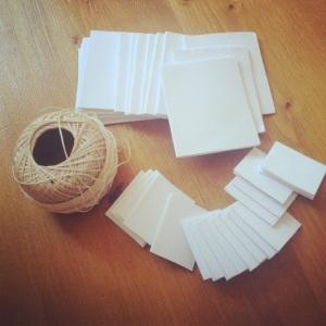 Mini-journal supplies