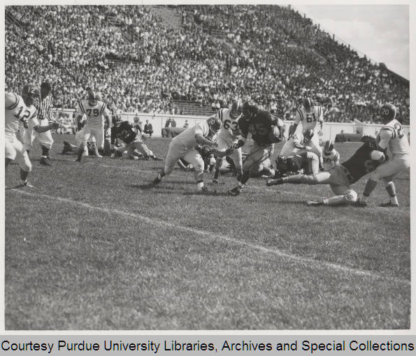 Purdue vs. Nebraska, 1958 (from the Purdue Special Archives)
