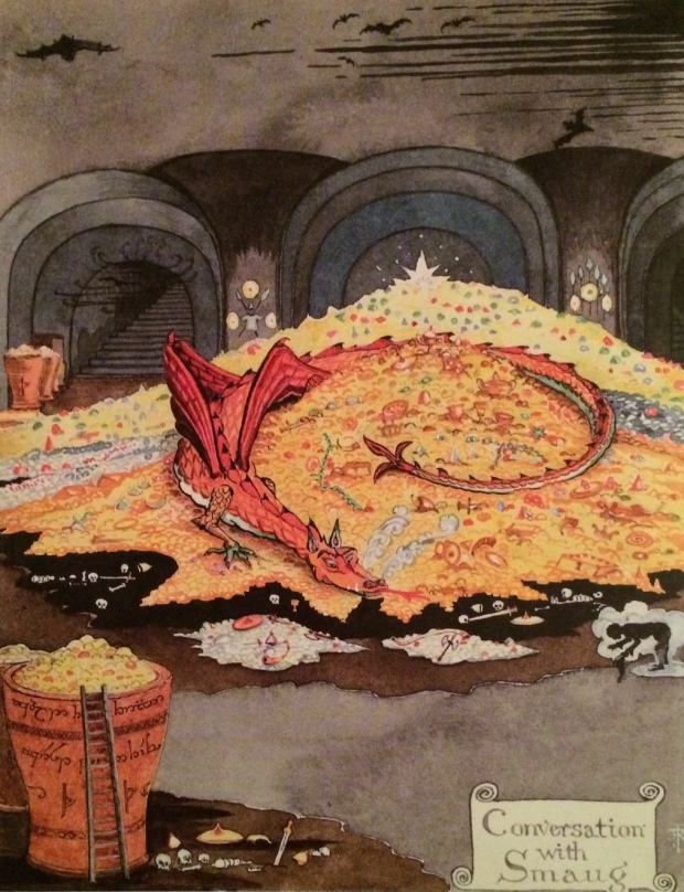 """JRRT """"Conversation with Smaug"""""""