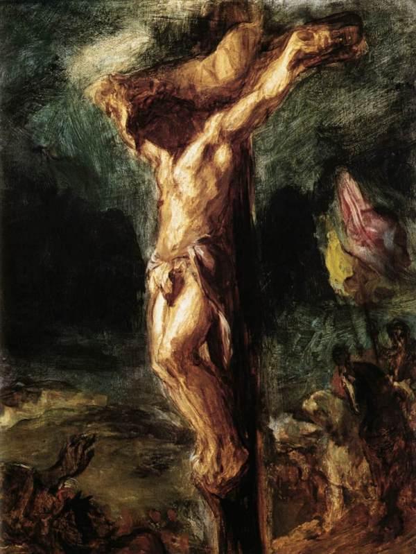 Eugene Delacroix (c. 1845)