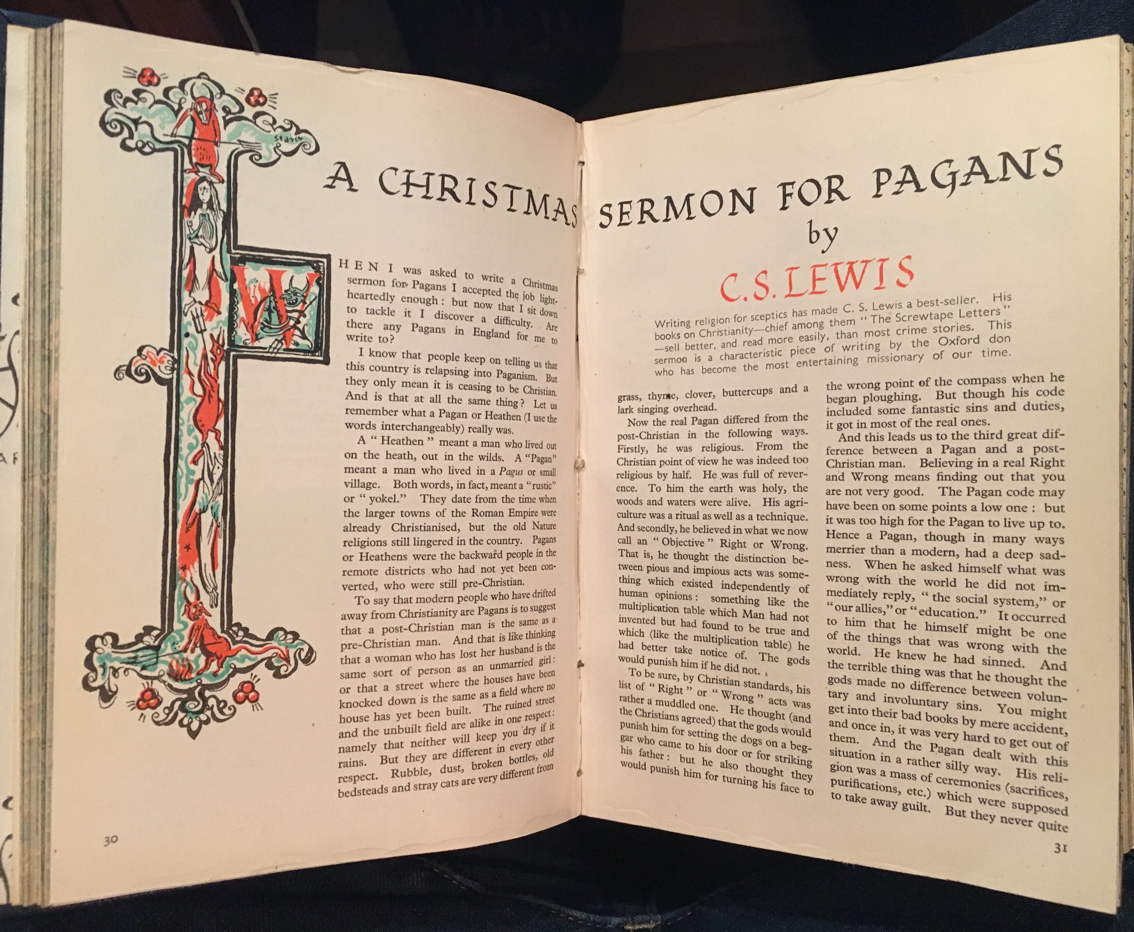 CSLewis Christmas Sermon
